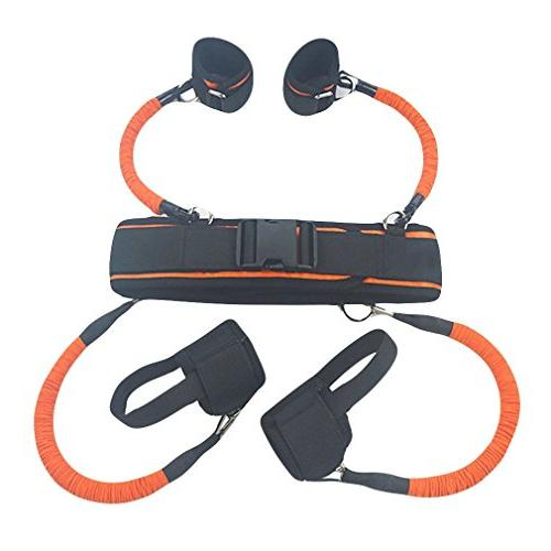 Ranbo heavy exercise bands Leg strength and agility training strap system for basketball taekwondo yoga equipment