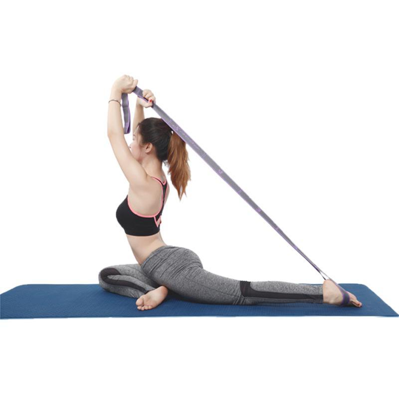 High Fitness <font><b>Resistance</b></font> 8-Loop Training Stretching Strap