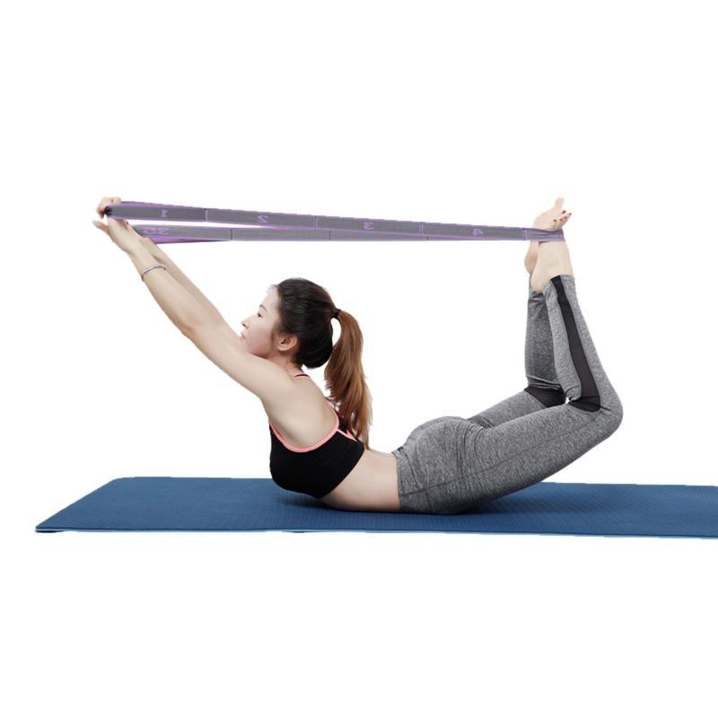 High Elastic Fitness Training Strap Stretching <font><b>Mat</b></font> <font><b>Band</b></font> Strap