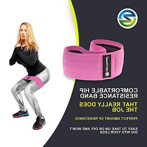 OZO Band | Exercise for & Glutes | Slip Resistance Bands Women. Get Fit! Manual