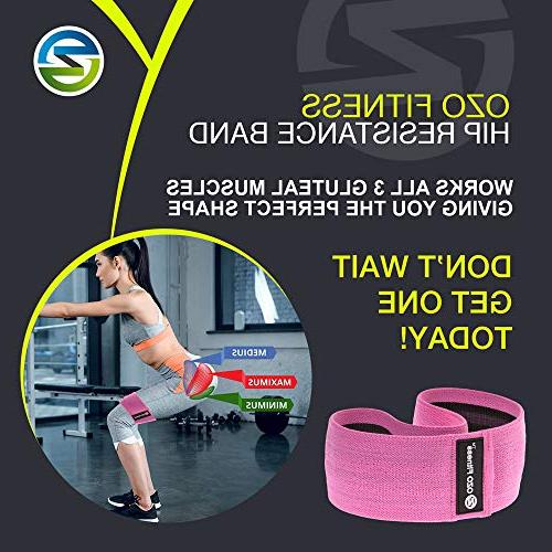 OZO Band | for Legs & Glutes | Thick Slip Women. Fit! Manual
