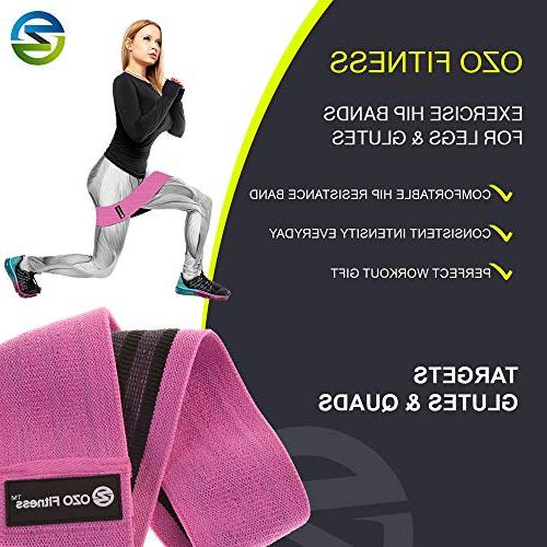 OZO Fitness Hip Band Exercise for Legs | Thick Cloth Slip Women. Get Manual