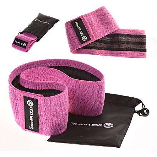 OZO Band Exercise for | Thick Slip Resistance Bands for Women. Get Fit! Exercise Manual