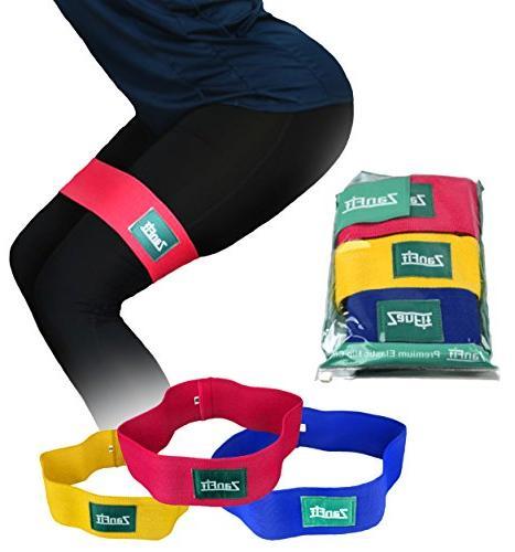 Set of - Fabric Booty - Thigh Resistance No Medium - Perfect Squatting, Pilates.