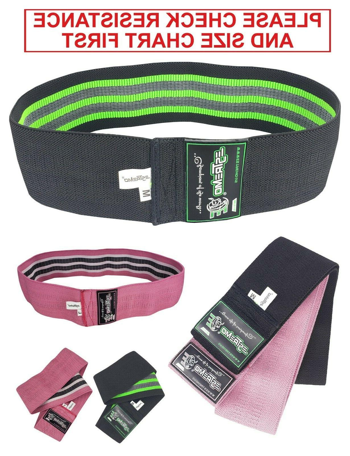 resistance bands hip exercise circle bands