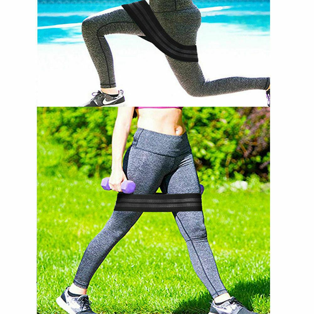 Resistance Hip Booty Loop Workout Non-Slip Legs Exercise Glute