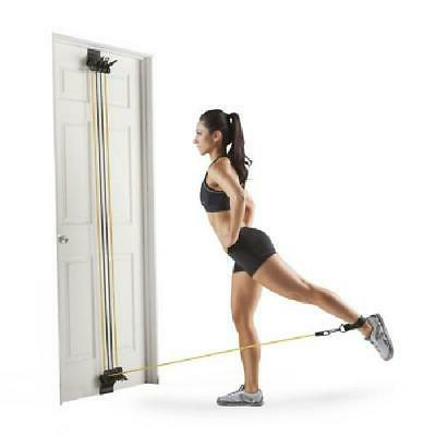 HOME GYM EQUIPMENT Total Body Fitness Workout Attached