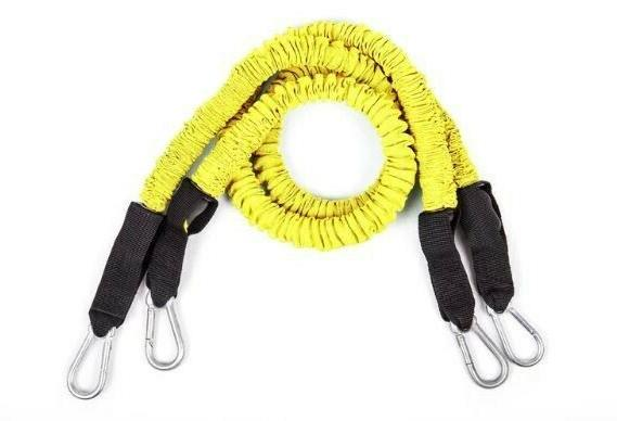 home gym resistance bands yellow