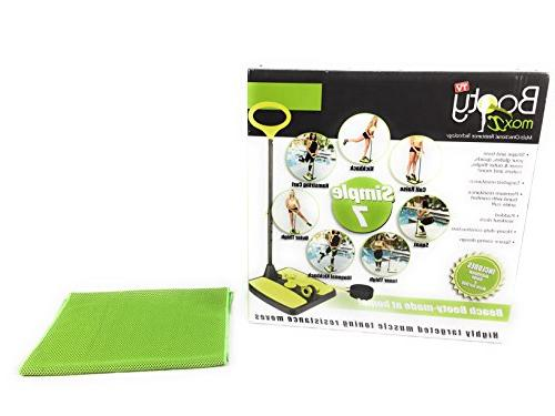 home workout resistance band training