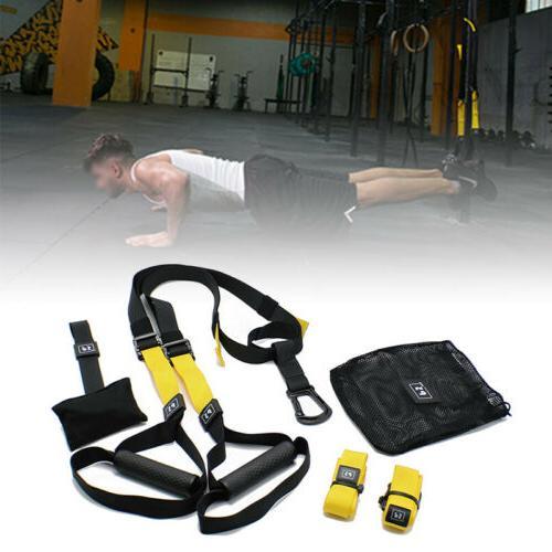 Resistance Bands Training Straps workout Crossfit Suspension