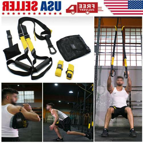 hot yoga fitness workout suspension resistance band