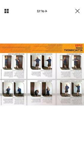 SPRI Pro Exercise Red-heavy W/Door Attachment