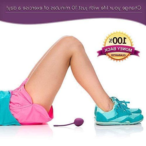 InJoy Weights – Doctor Recommended Bladder Control Kegal Labor Prep & Incontinence – Pelvic Strengthening Wa Balls Women