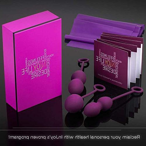 InJoy – Bladder with Kegal for Labor Incontinence Strengthening Device Ben Wa Balls for Women