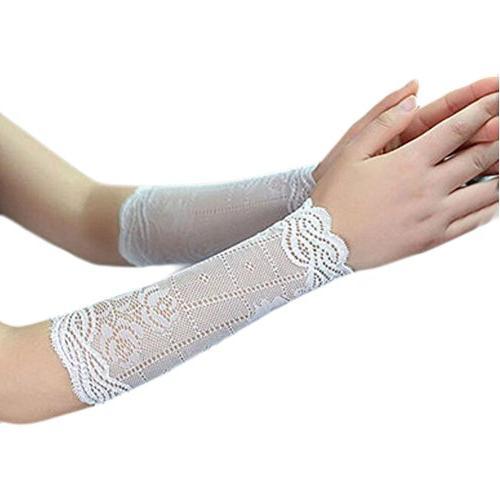 lace sunscreen wristbands breathable sun