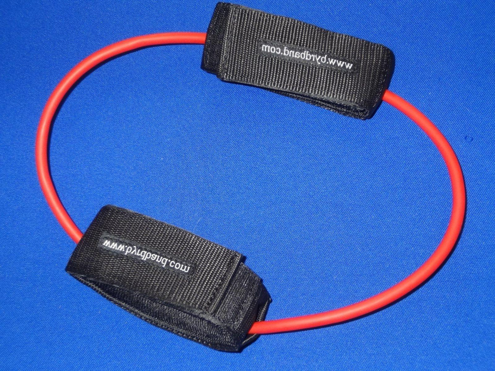 lateral resistance band w padded ankle cuffs