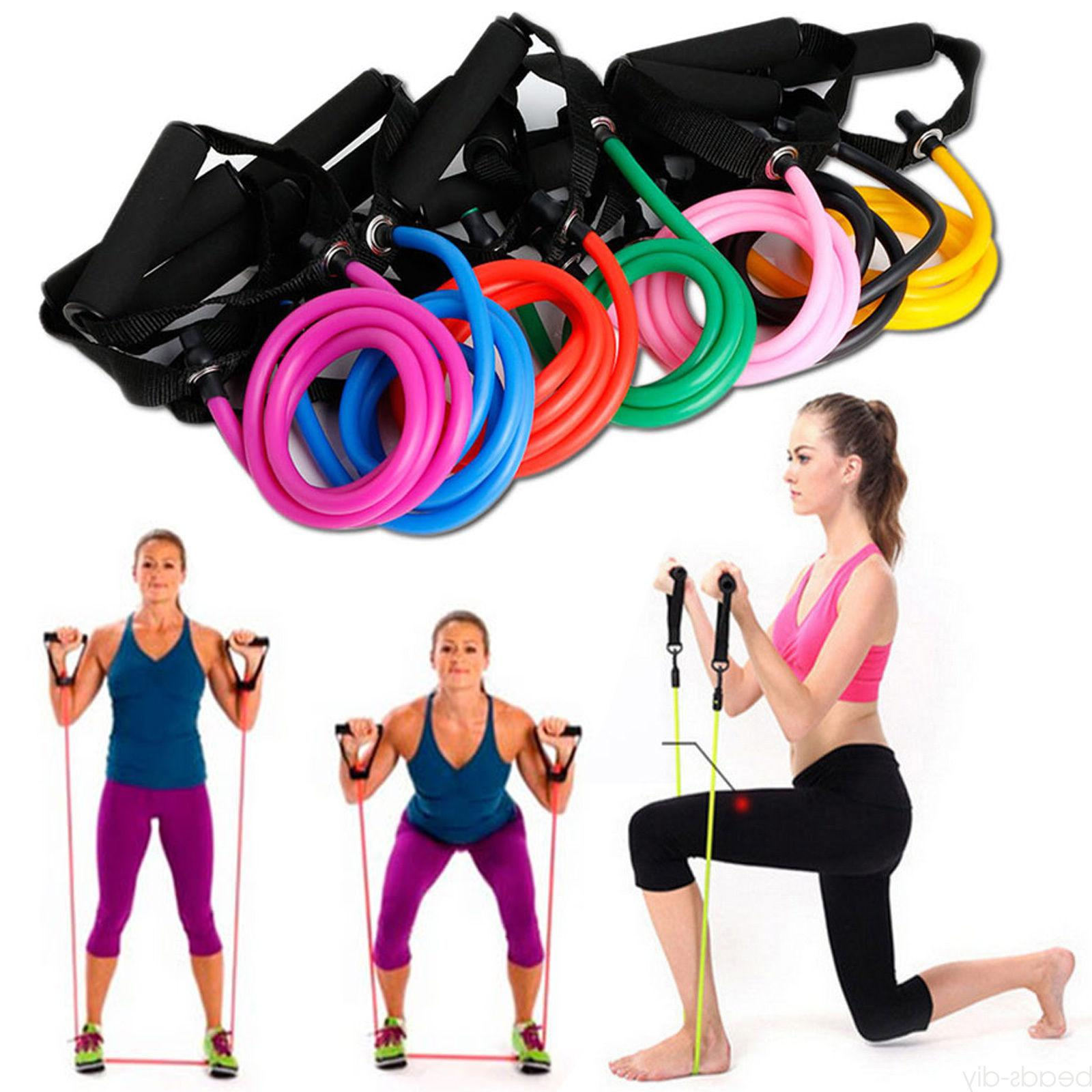 Unisex Elastic Pilates Tube Sport Fitness Equipment
