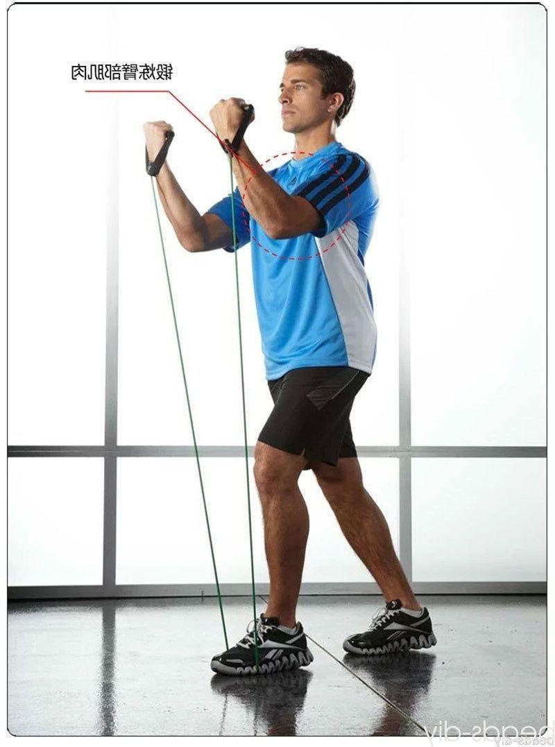 Latex Elastic Resistance Band Pilates Tube Pull Rope Gym Yoga