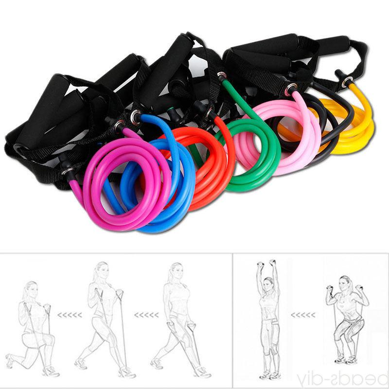 Unisex Pilates Tube Pull Sport Equipment