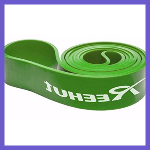 REEHUT Loop Band Pull Jump Stretch Workout