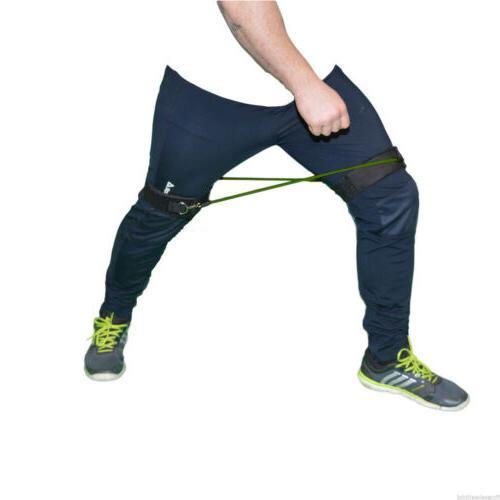 Latex Set 4 Resistance Bands Leg Trainers