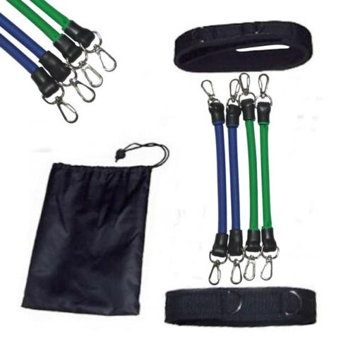 Latex Set Resistance Bands Leg Tube Ankle Trainers