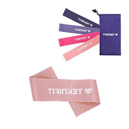 light pink single resistance band