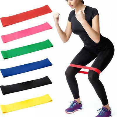 UNisex Exercise/Strength Loop Yoga Belt Bands
