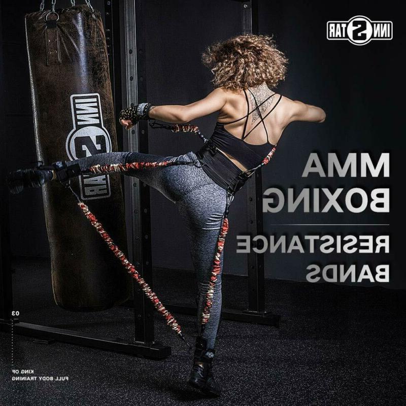 mma boxing training resistance band enhance explosive