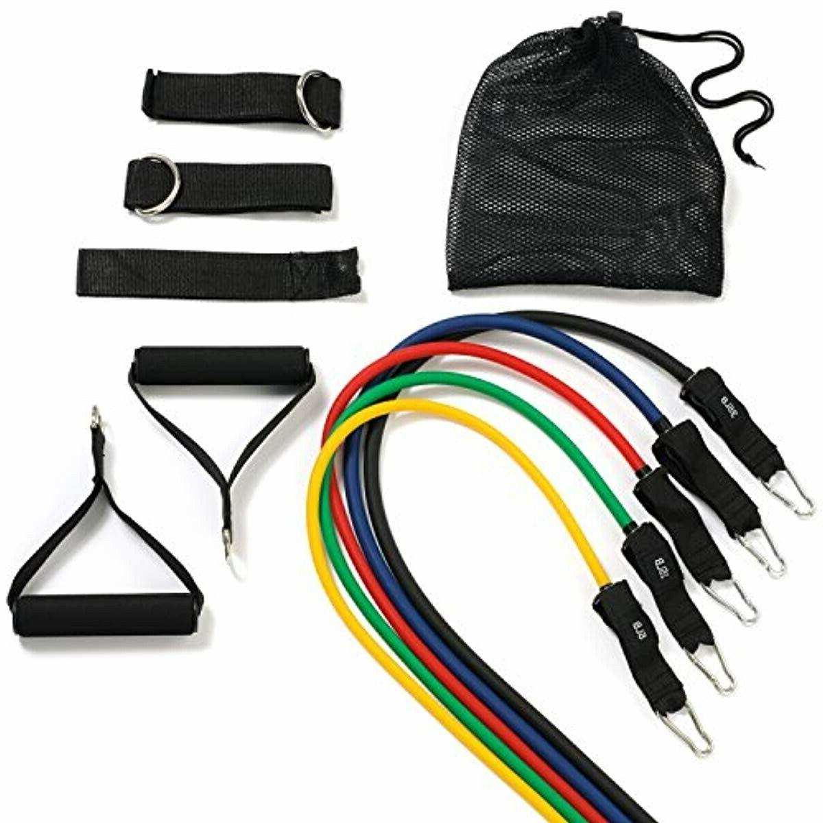 New 11PC Resistance Bands Anchor