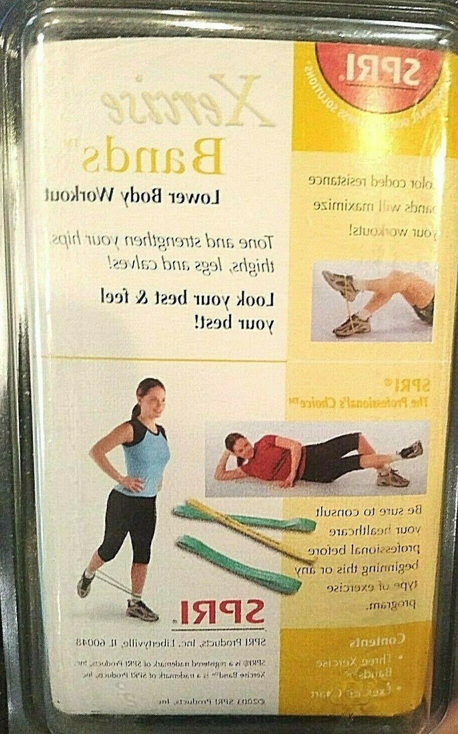 New 3 Xercise Band in Leg Hip Butt Exercise