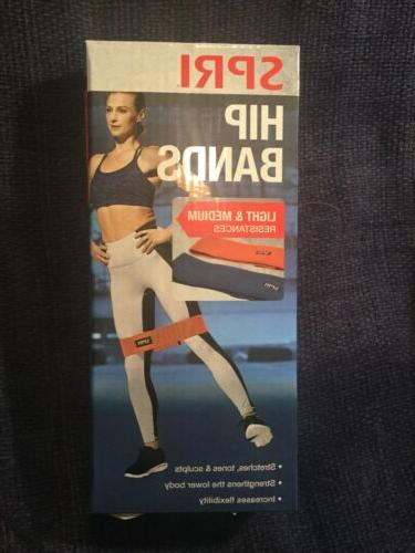 new 3 pc xercise resistance band set