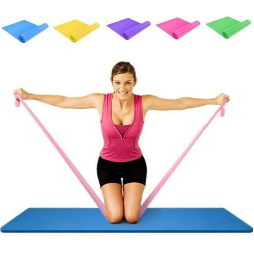 Flat Latex Free Home Gym Exercise Fitness Equipment Long Res