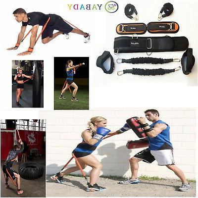 new resistance bands fitness equipment explosive kicking