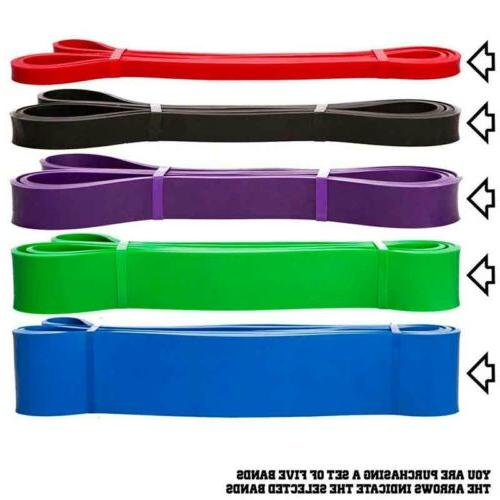 new resistance bands natural latex loop pull