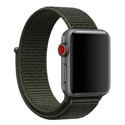 nylon loop band apple watch