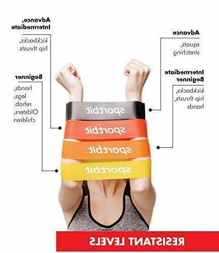 Pilates Set Exercise Bands Women
