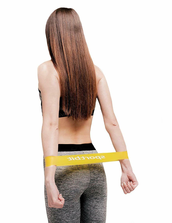 Pilates Flexbands Set Exercise Fitness Sports Bands Women