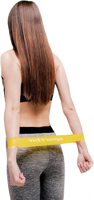 SPORTBIT Pilates Flexbands with Bag for Exercise