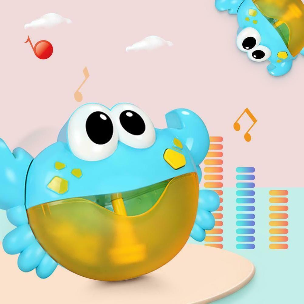Plastic Cartoon Baby Shower Crab Machine