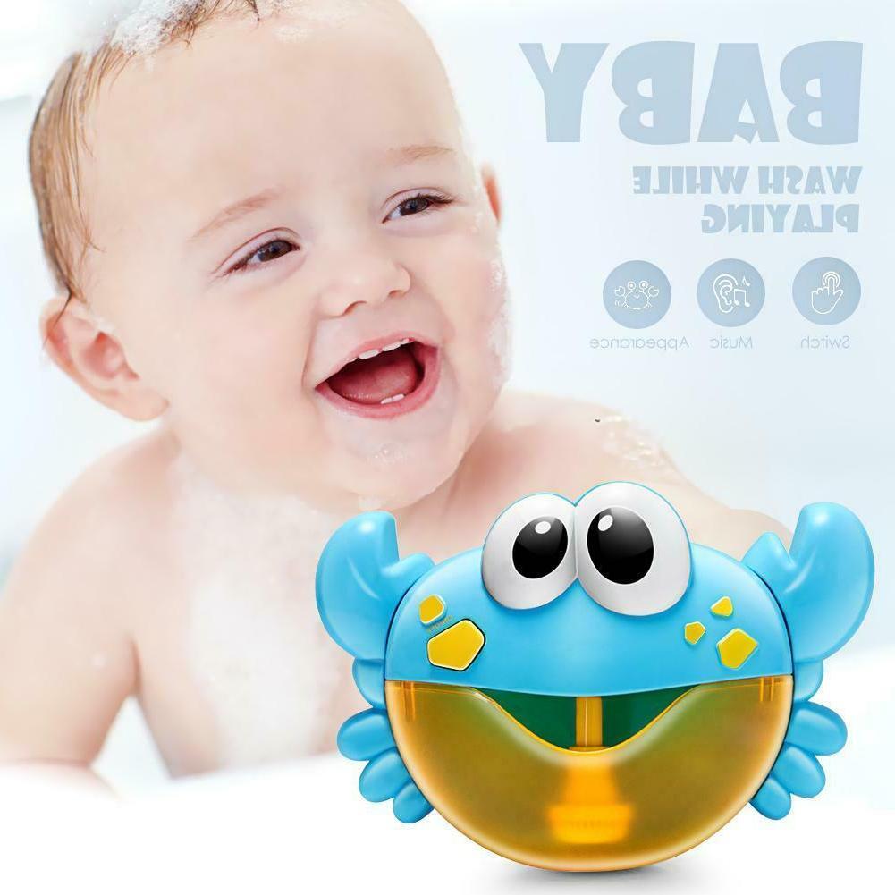 Plastic Cartoon Crab Machine Bubble Baby