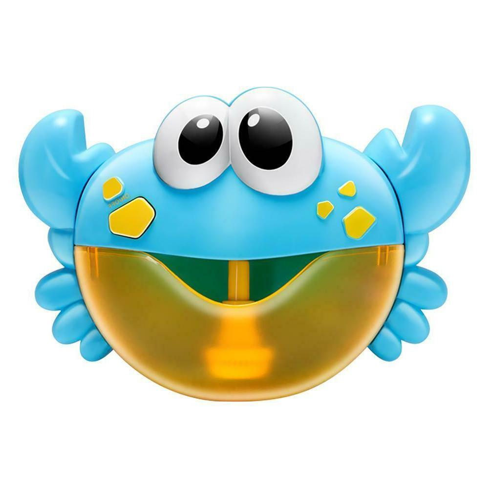 plastic cartoon crab bubble machine music bubble