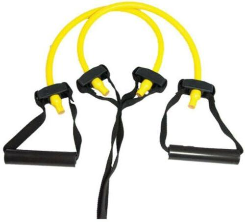 Perform Better Portable Travel Exercise Bands, Heavy, Yellow