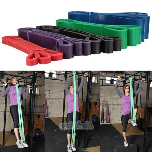POWER Pull Assist Bands Resistance Body Stretching, Powerlifting