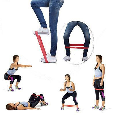 Power Heavy Resistance Loop Bands Elastic Yoga