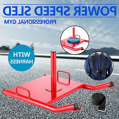 power speed sled w harness