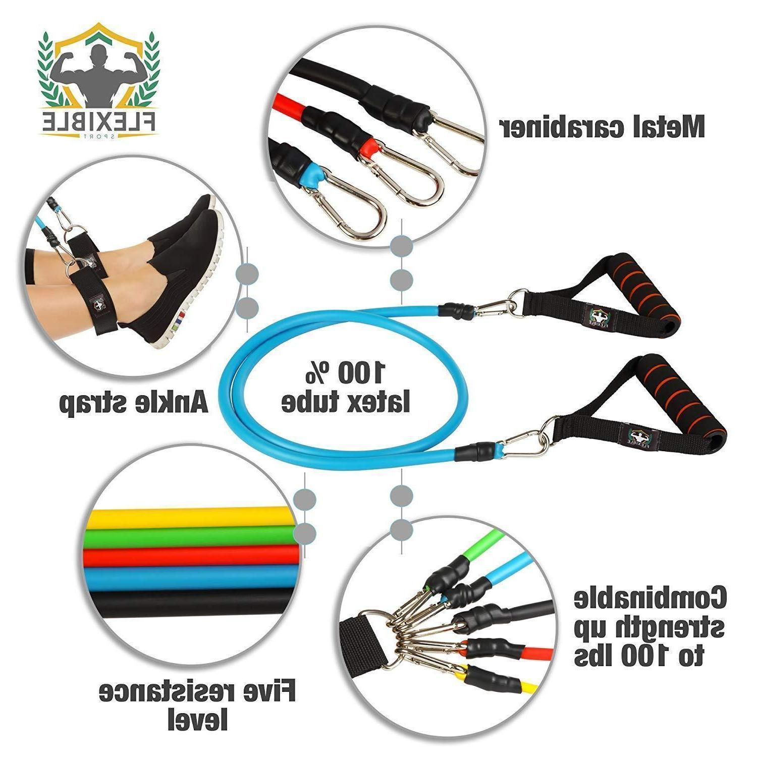 Premium Band Abs Fitness Pilates Bands