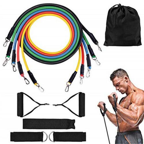 pilates flexbands home workout resistance bands set