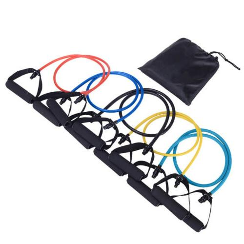 Premium Set Gym Exercise Pilates Tube