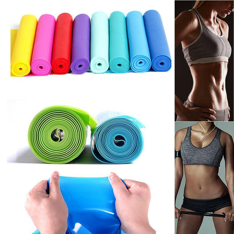 Professional Resistance Bands Straps Yoga Exercise Pilates